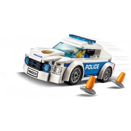 Конструктор LEGO City Поліцейське патрульне авто (60239)в Україні