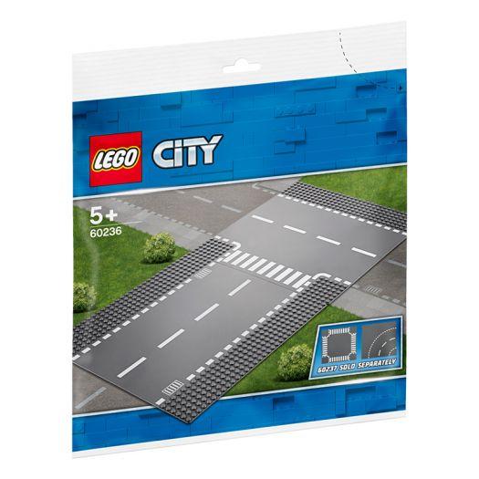 Конструктор LEGO City Бокова і пряма дорога (60236)купити