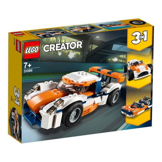 Конструктор LEGO Creator Гоночний автомобіль у Сансет (31089)в Україні