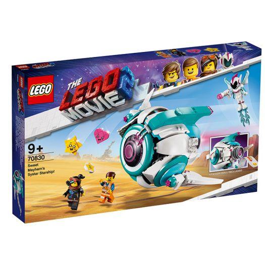 Конструктор LEGO Movie Сес-Терський зореліт Любки Хаос (70830)купити