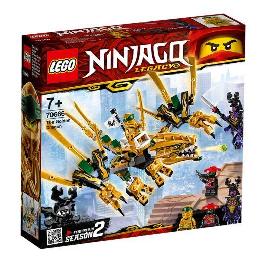 Конструктор LEGO Ninjago Золотой дракон (70666)в Україні