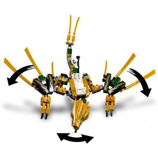 Конструктор LEGO Ninjago Золотой дракон (70666)купити