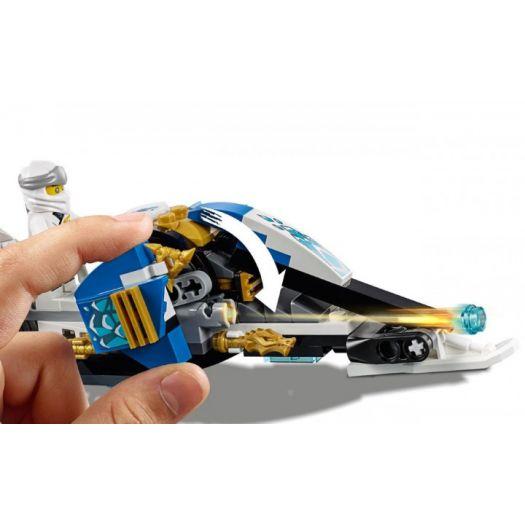 Конструктор LEGO Ninjago Мотоцикл із мечами Кая та снігомобіль Зейна (70667)замовити