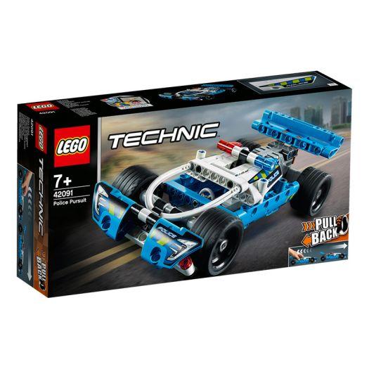 Конструктор LEGO Technic Поліцейська гонитва (42091)замовити