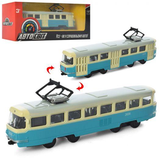 Трамвай АвтоСвіт металевий інерційний (AS-1830)замовити