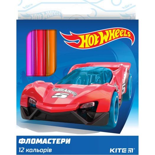 Фломастери Kite Hot Wheels (HW19-047)в Україні