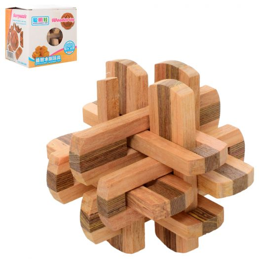Головоломка Burrpuzzle дерев'яна (5162)замовити
