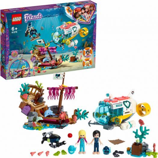 Конструктор LEGO Friends Місія Порятунку дельфінів (41378)купити