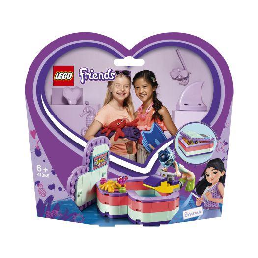 Конструктор LEGO Friends Літня шкатулка-сердечко для Емми (41385)в Україні