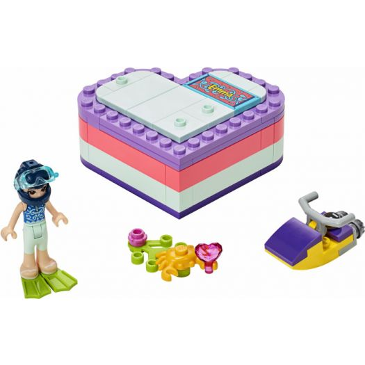 Конструктор LEGO Friends Літня шкатулка-сердечко для Емми (41385)купити