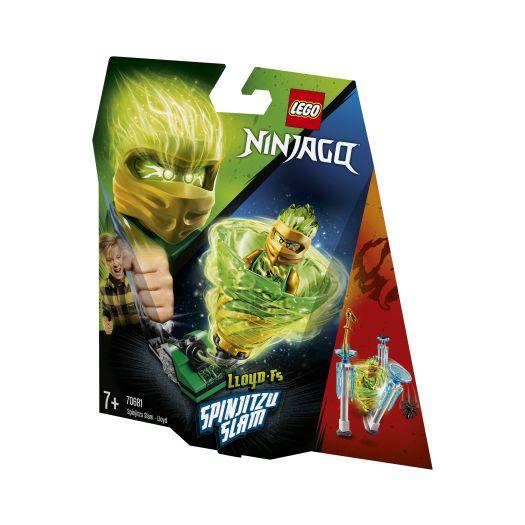 Конструктор LEGO Ninjago Удар спін-джитсу - Ллойд (70681)замовити