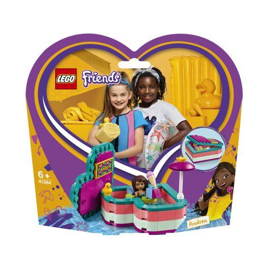 Конструктор LEGO Friends Літня шкатулка-сердечко Андреа (41384)замовити