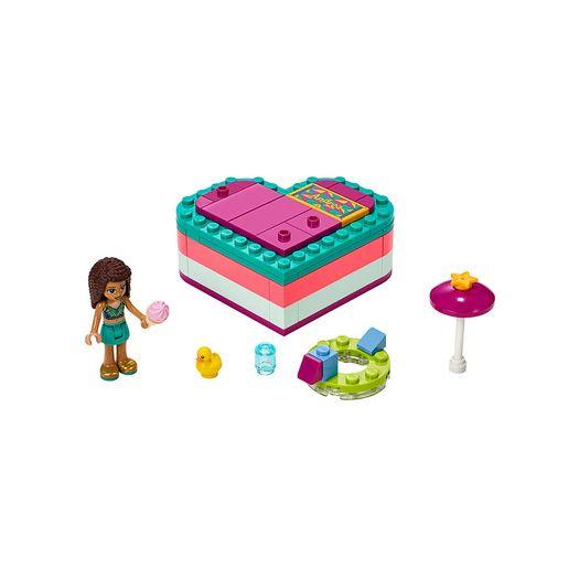 Конструктор LEGO Friends Літня шкатулка-сердечко Андреа (41384)купити