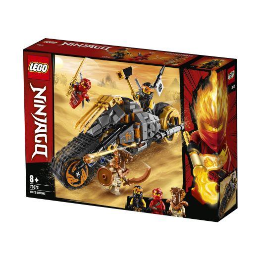 Конструктор LEGO Ninjago Мотоцикл Коула для мотокросу (70672)замовити