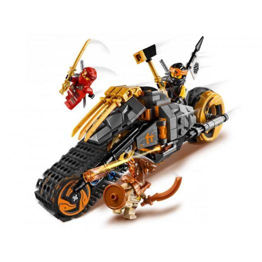 Конструктор LEGO Ninjago Мотоцикл Коула для мотокросу (70672)в Україні