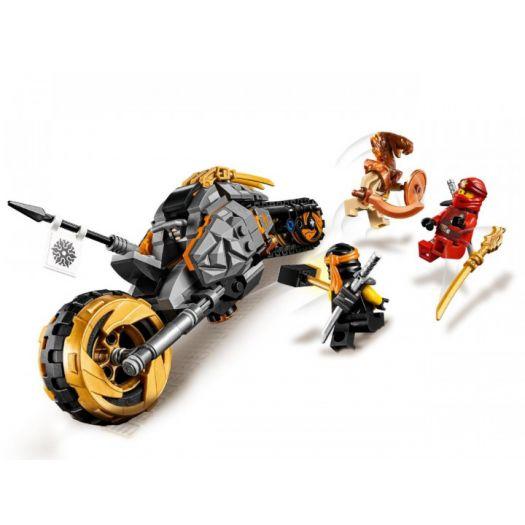 Конструктор LEGO Ninjago Мотоцикл Коула для мотокросу (70672)купити