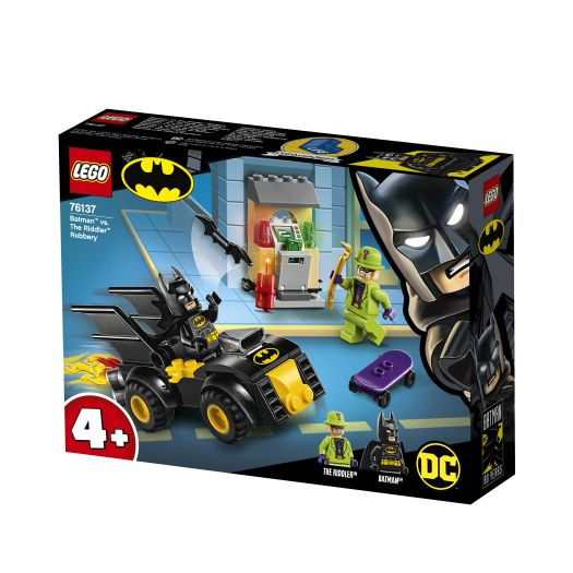 Конструктор LEGO Super Heroes Бетмен і пограбування Загадника 59 деталей (76137)в Україні