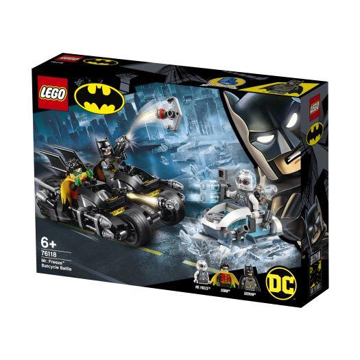 Конструктор LEGO Super Heroes  Битва на бетоциклі Містера Фріза (76118)замовити