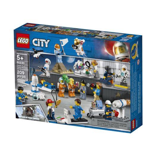 Конструктор LEGO City Набір фігурок Розробки та дослідження в галузі космічної техніки (60230)замовити