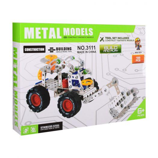 Конструктор металевий Aole Toys Екскаватор (3111)замовити