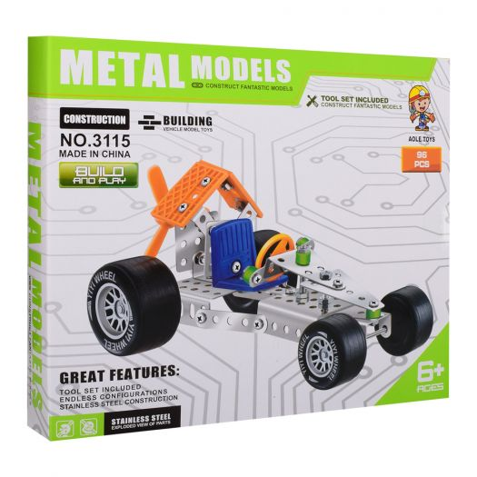 Конструктор металевий Aole Toys Машинка (3115)купити