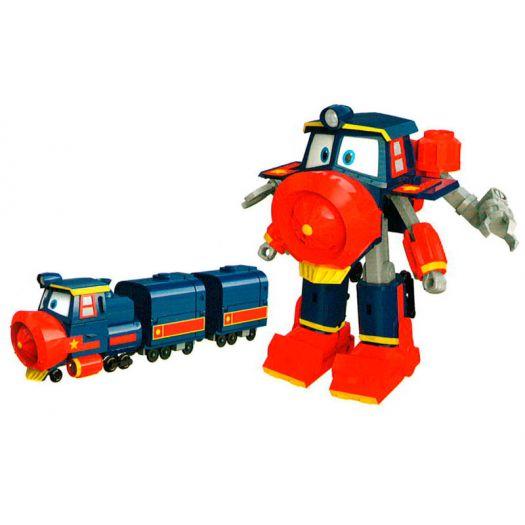 Паровозик-трансформер ROBOT TRAINS Роботи поїзди, Трансформер Віктор (80186)замовити
