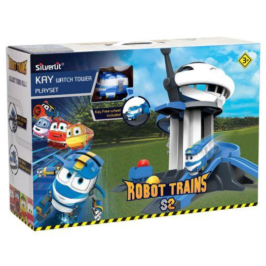 Ігровий набір Silverlit Robot trains Дозорна вежа (80189)купити