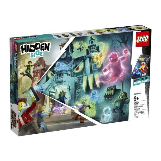 Конструктор LEGO Hidden Side Школа з привидами в Ньюбері (70425)купити
