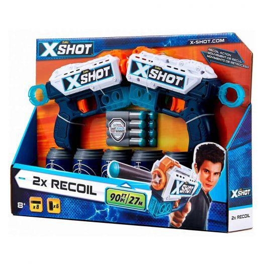 Набір швидкострільних бластерів X - Shot  EXCEL Double Pulse (36202Z)купити