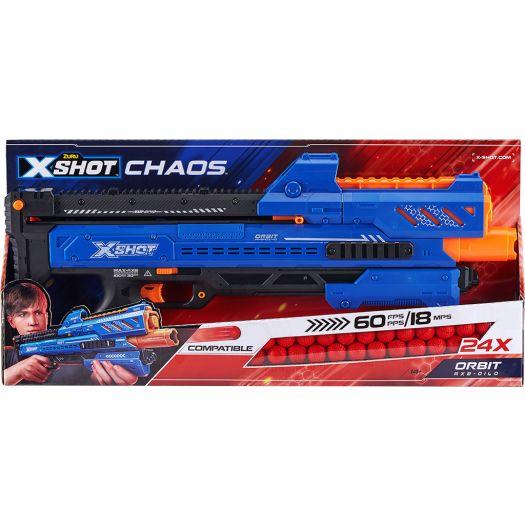 Бластер швидкострільний X-Shot EXCEL CHAOS Orbit (36281Z)в Україні