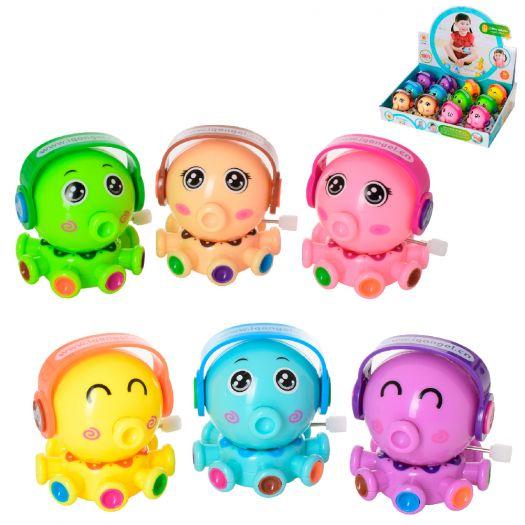 Заводна іграшка Wind-up toys восьминіг, 6 кольорів (658)замовити