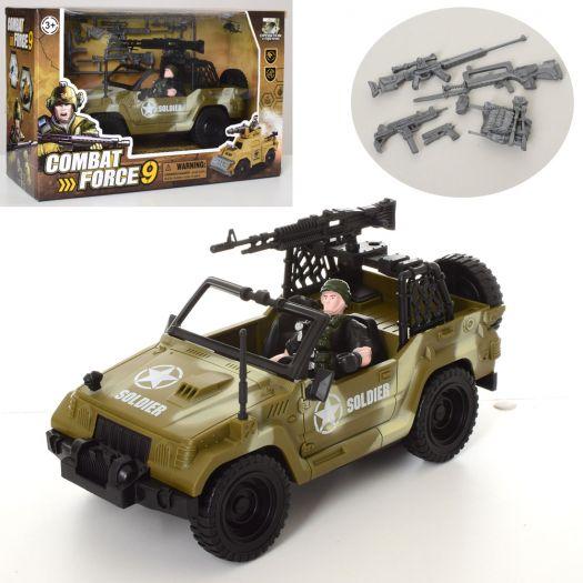 Набір воєнного з транспортом Combat Forse9 (C3109-4)купити