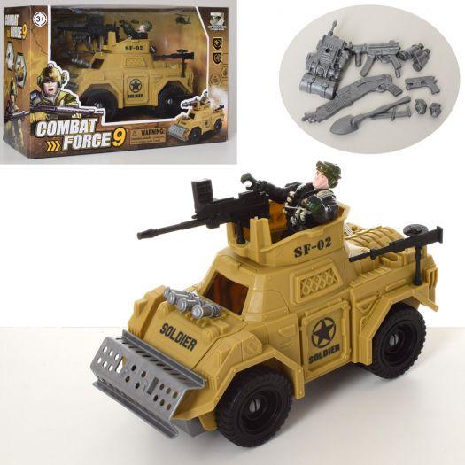 Набір військового з транспортом Combat Forse9 (C3109-8)купити
