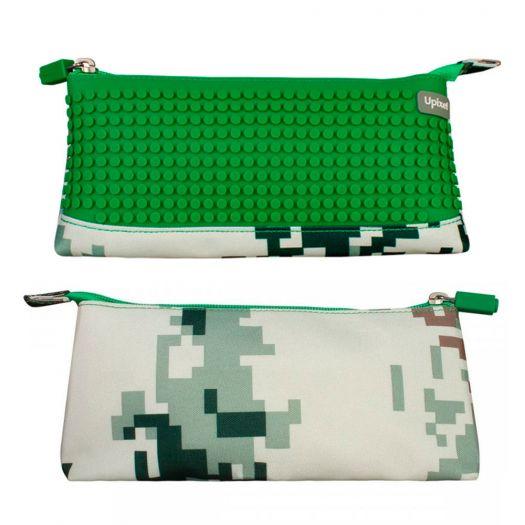 Пенал Upixel Camouflage Зелений, (WY-B002D-A)купити