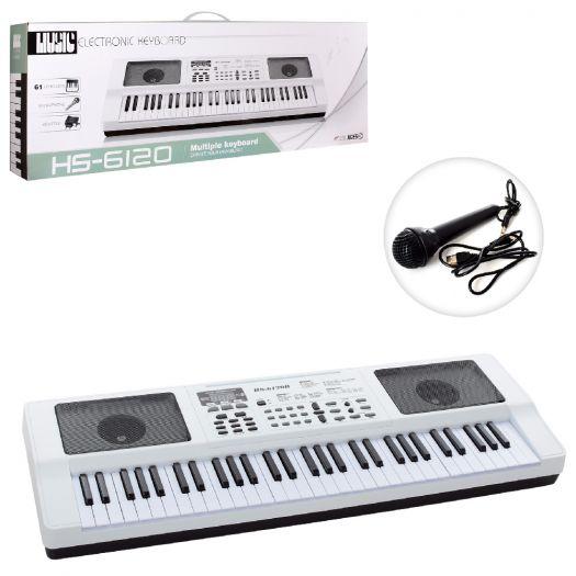 Дитячий синтезатор Music Keyboard (HS6120B) купити