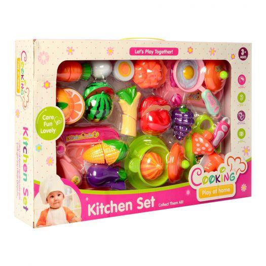 Набір посуду Kitchen Set з продуктами (FD301-1)купити