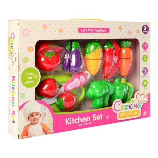 Набір продуктів Kitchen Set овочі, фрукти (FD304-1)замовити
