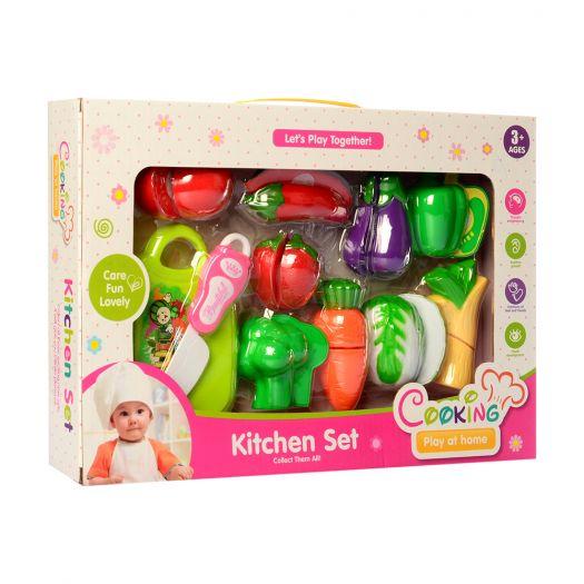 Набір продуктів Kitchen Set овочі, фрукти (FD304-2)замовити