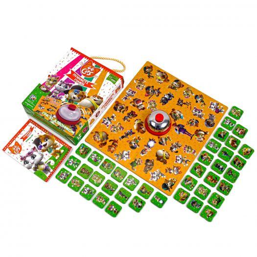 Гра настільна Vladi Toys 44 Кота Пухнасті гонки (VT8010-07)замовити