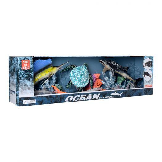 Ігровий набір King me world Морські тварини (5501-3)купити