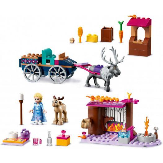 Конструктор LEGO Disney Princess. Пригодницький фургон Ельзи (41166)замовити