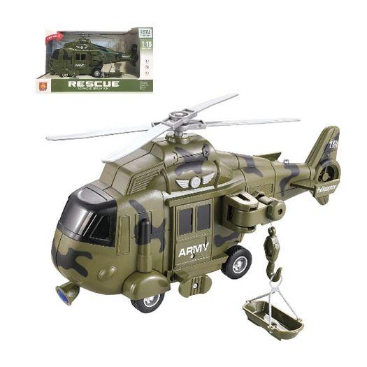Гелікоптер військовий Wenyi інтерактивний (WY751A)в Україні