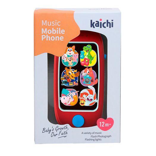 Іграшковий телефон Kaichi 2в1 (K999-149B)купити