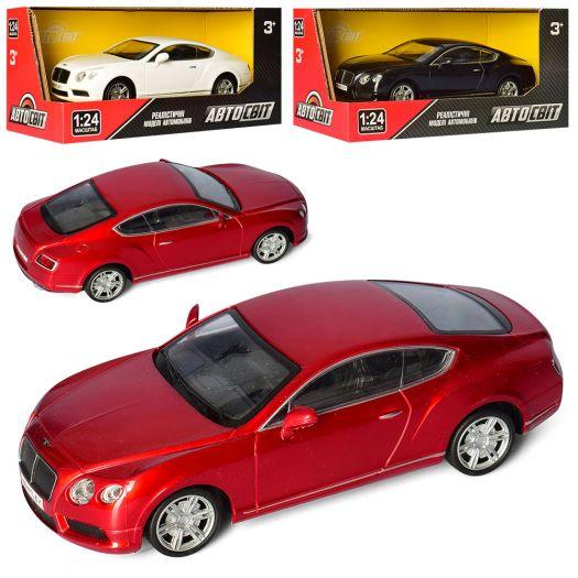 Машина АвтоСвіт, інерц., 1:24, гум.колеса, в асортименті(AS-2143)купити