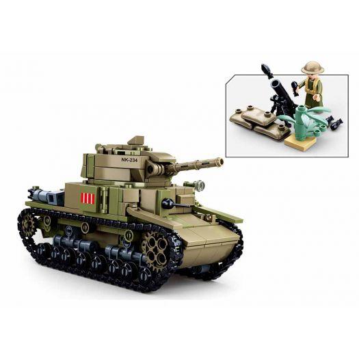Конструктор SLUBAN Army Військовий італійський танк M14/41 (M38-B0711)купити