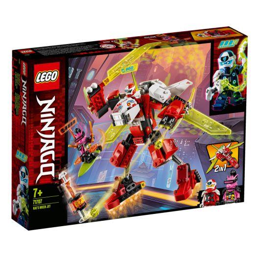Конструктор LEGO Ninjago Робот-літак Кая (71707)купити