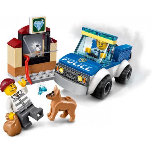 Конструктор LEGO City Поліцейській загін із собакою (60241)в Україні