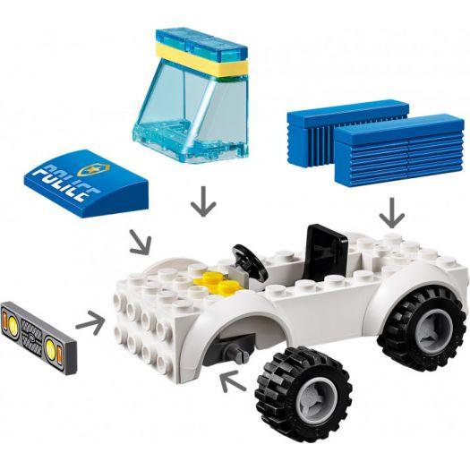 Конструктор LEGO City Поліцейській загін із собакою (60241)купити