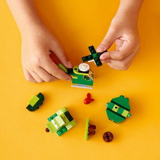Конструктор LEGO Classic Зелений набір для конструювання (11007)замовити