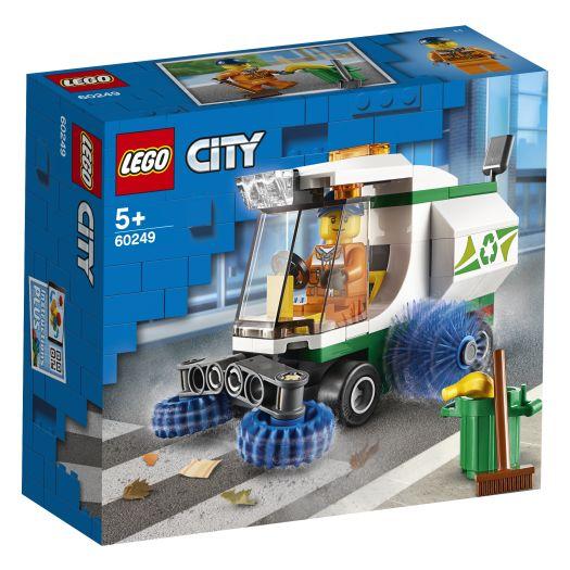 Конструктор LEGO City Машина для очищення вулиць (60249)в Україні